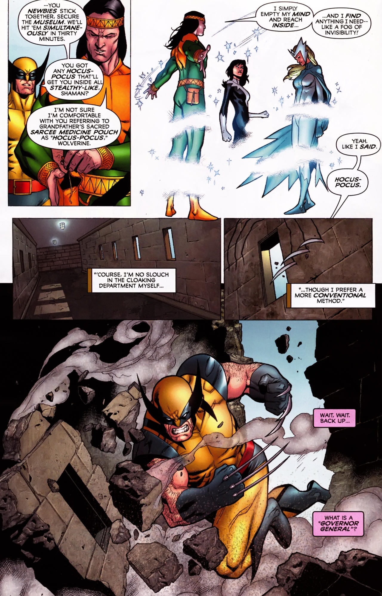 Read online Wolverine: First Class comic -  Issue #5 - 10