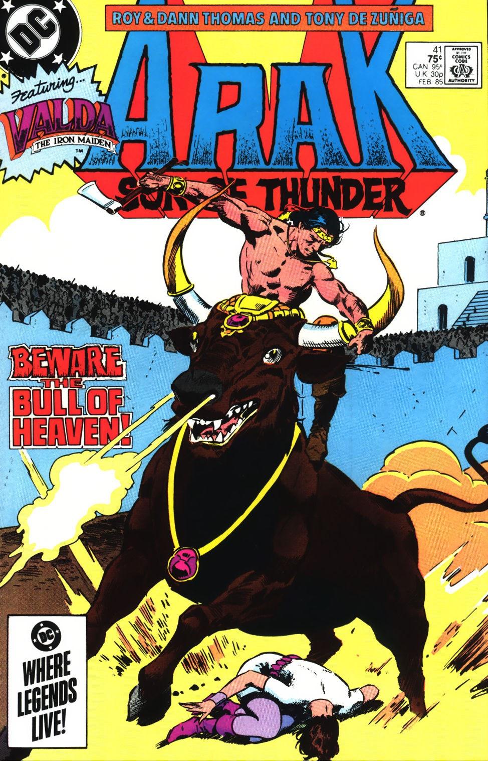 Arak Son of Thunder 41 Page 1