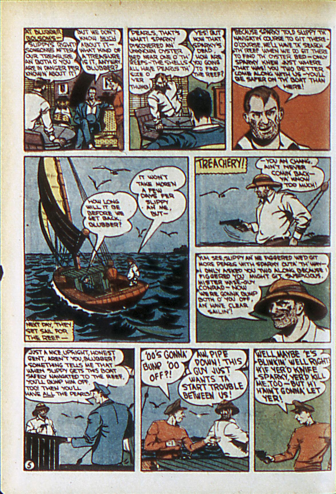 Read online Adventure Comics (1938) comic -  Issue #61 - 29
