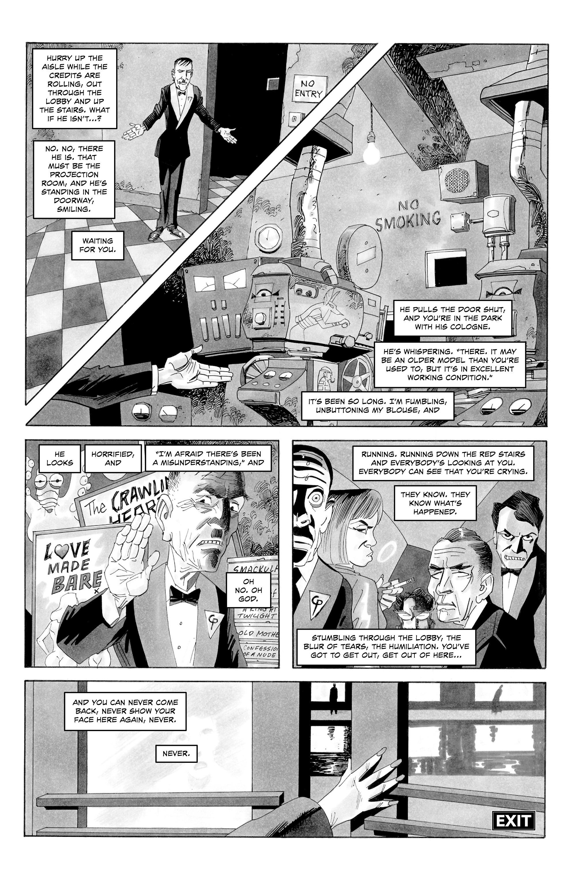 Read online Alan Moore's Cinema Purgatorio comic -  Issue #8 - 12