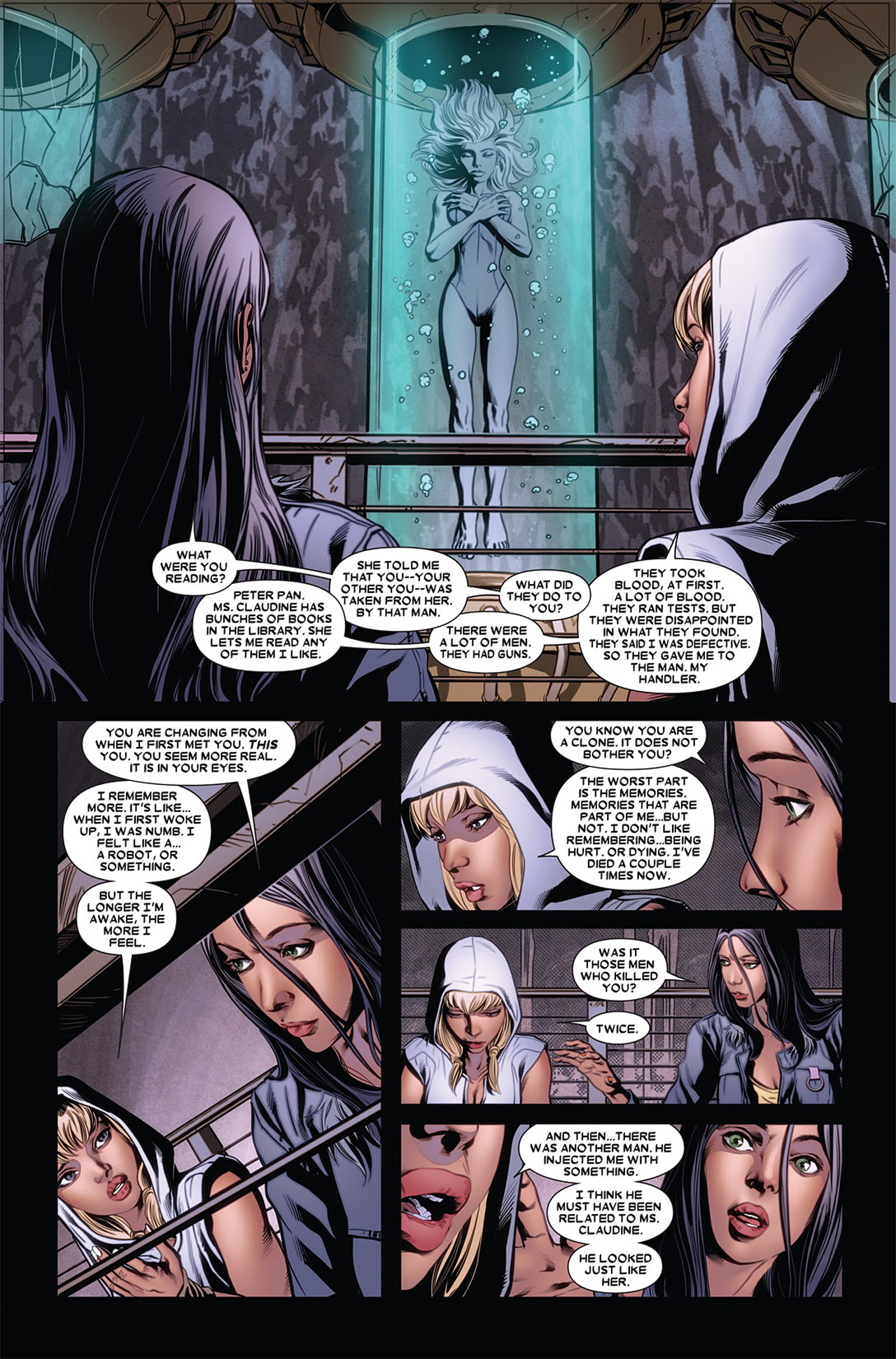 Read online X-23 (2010) comic -  Issue #5 - 17
