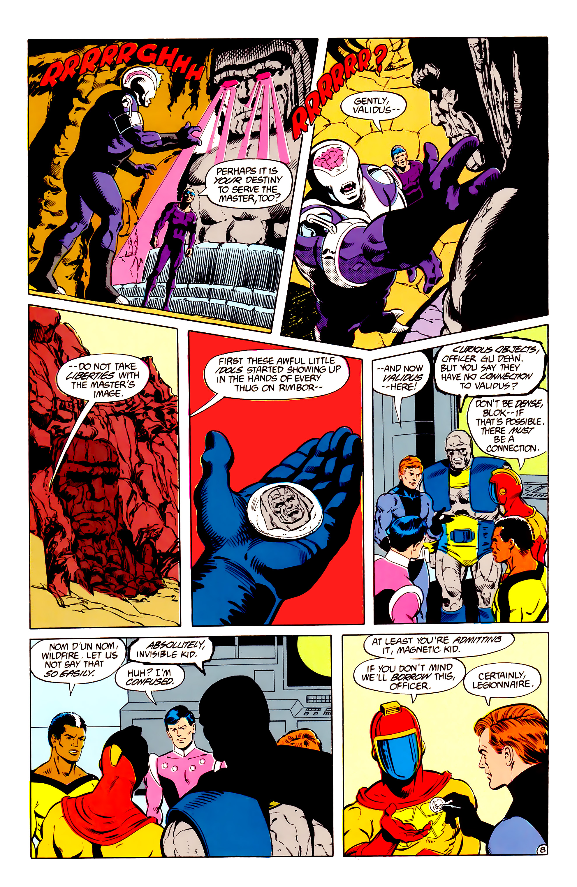 Legion of Super-Heroes (1984) _Annual_2 Page 9