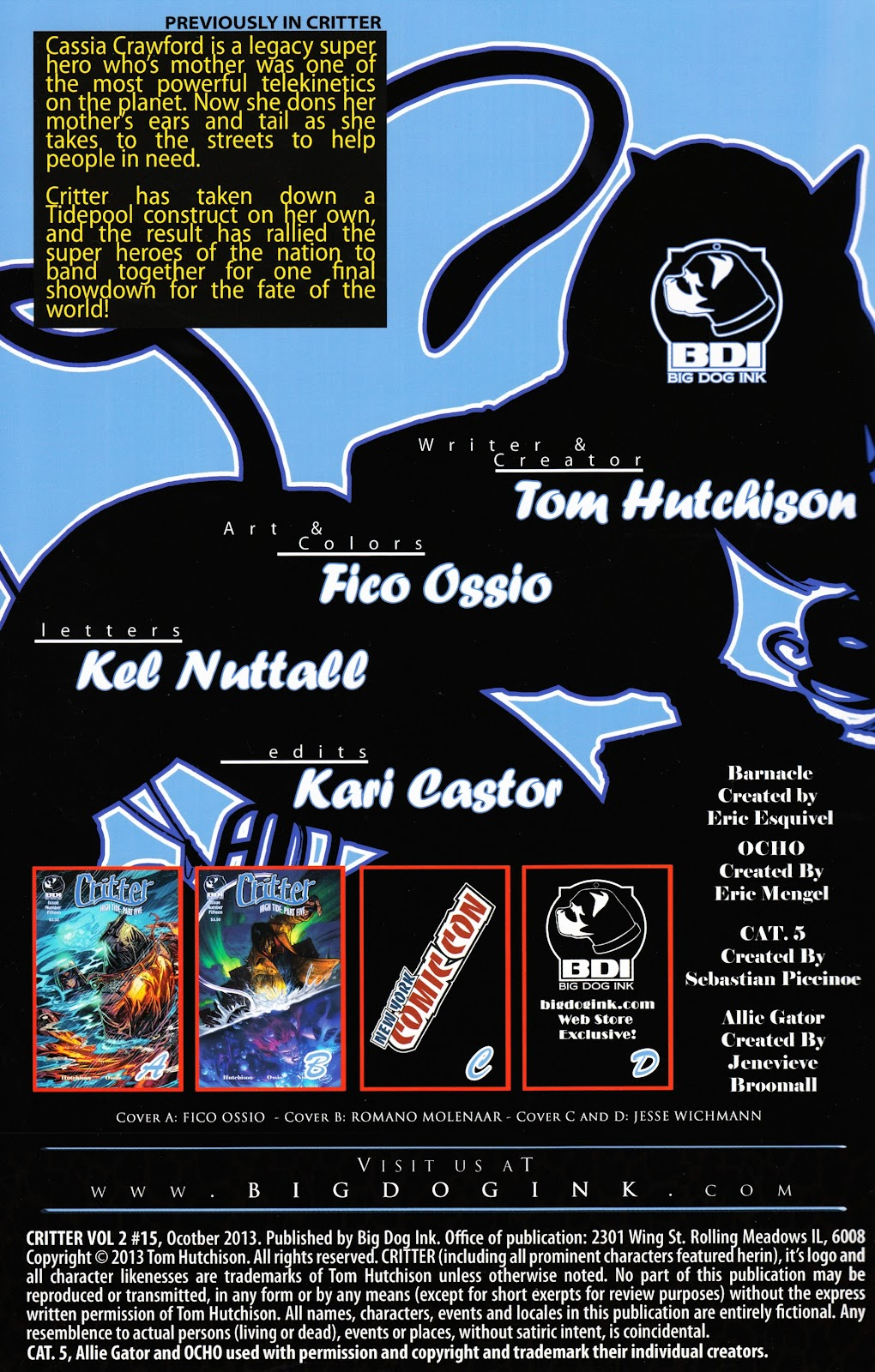Read online Critter (2012) comic -  Issue #15 - 2