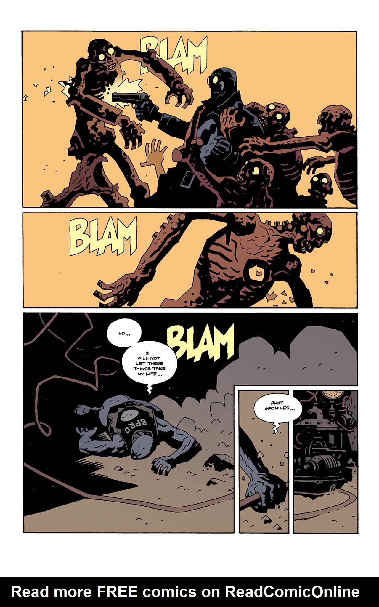 Read online Hellboy: Conqueror Worm comic -  Issue #2 - 19
