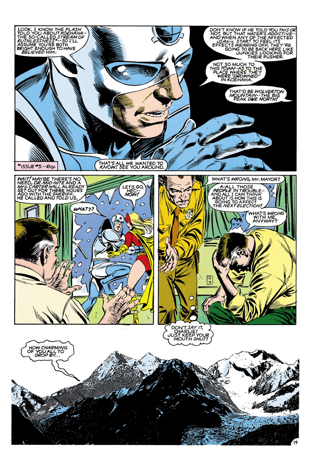 Infinity Inc. (1984) issue 9 - Page 19