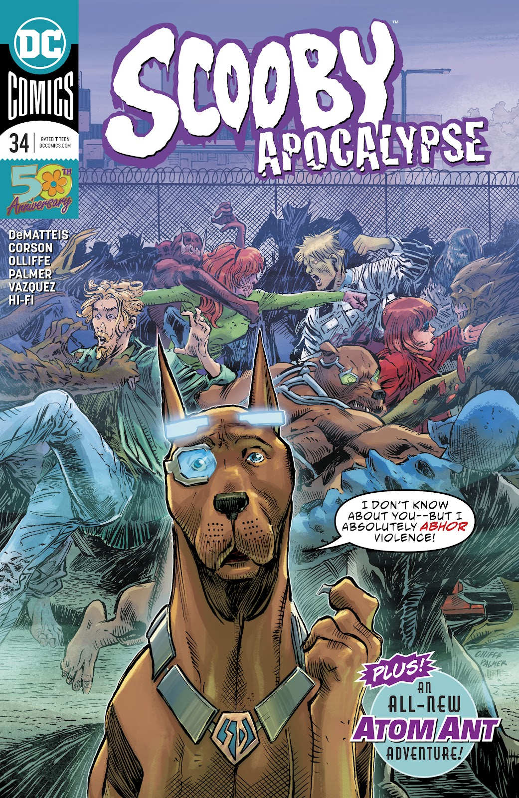 Read online Scooby Apocalypse comic -  Issue #34 - 1