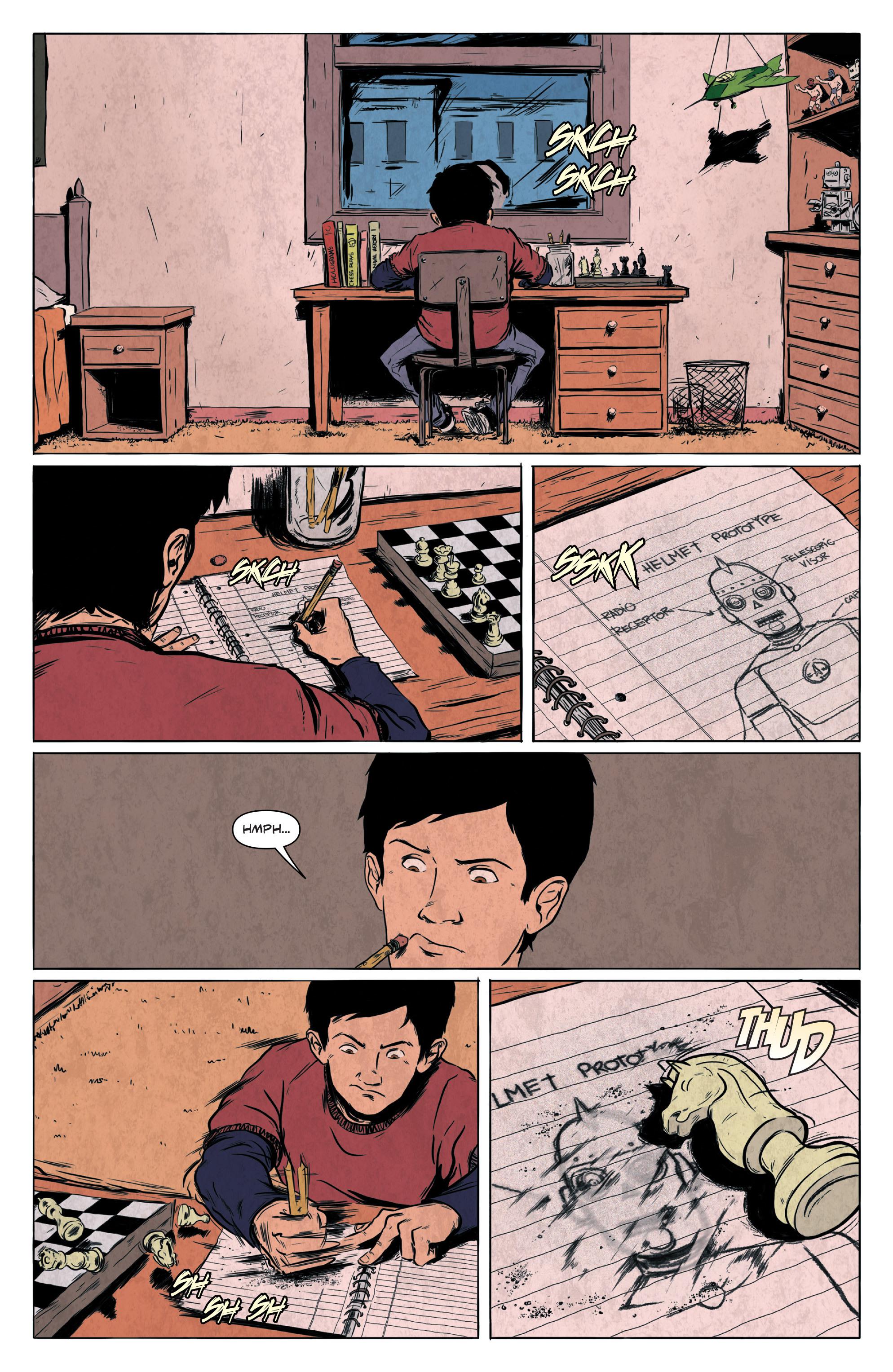 Read online Translucid comic -  Issue #1 - 4