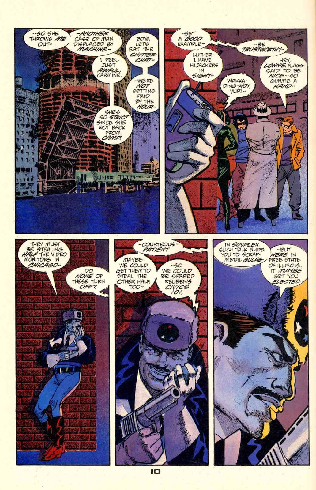 Howard Chaykin's American Flagg issue 2 - Page 12