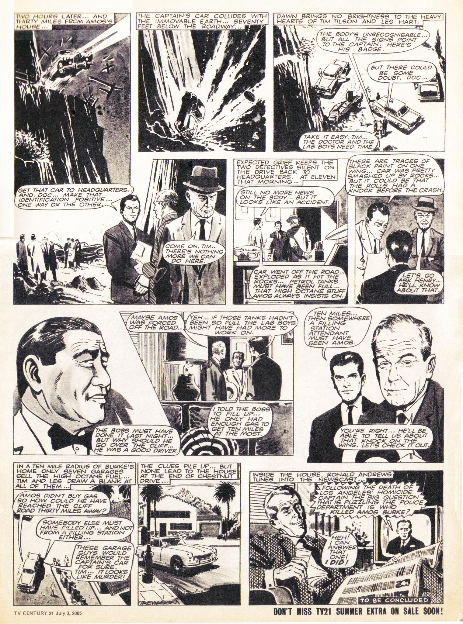 Read online TV Century 21 (TV 21) comic -  Issue #24 - 3