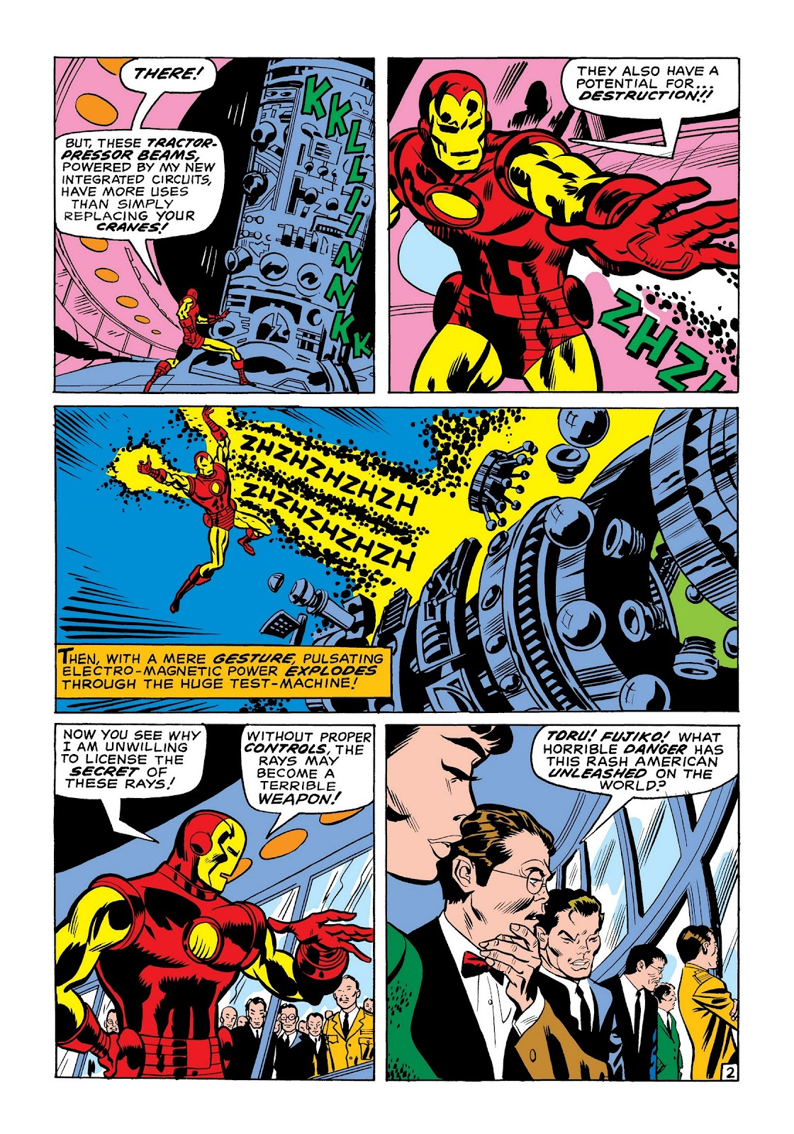 Read online Marvel Masterworks: The Invincible Iron Man comic -  Issue # TPB 7 (Part 1) - 91