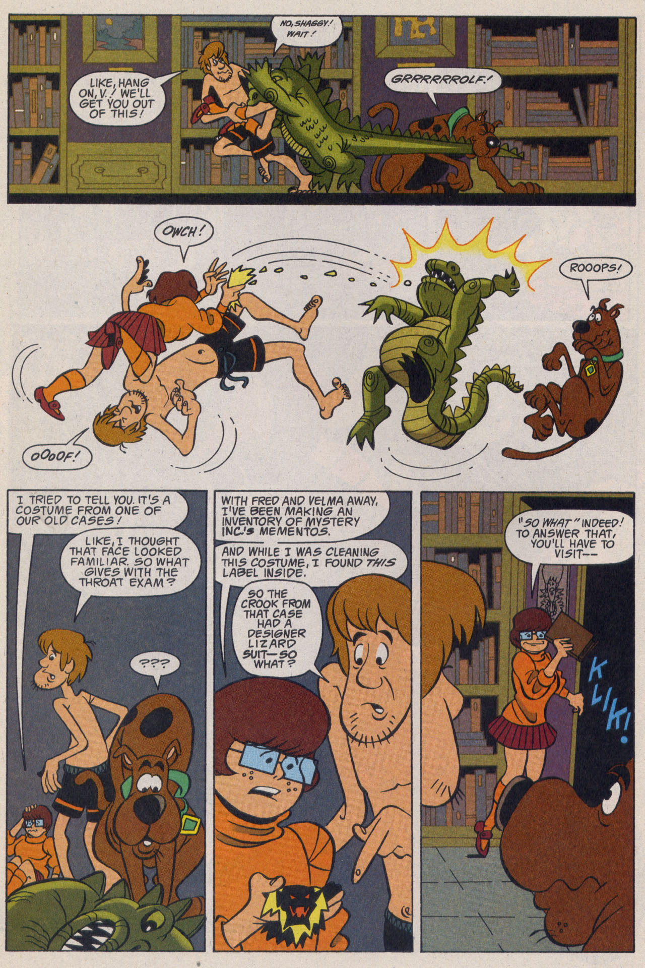 Read online Scooby-Doo (1997) comic -  Issue #9 - 23