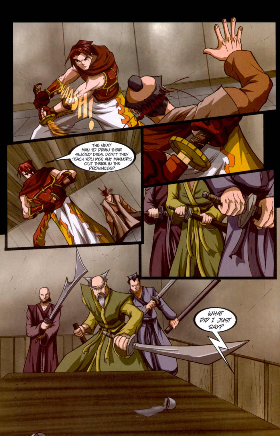 Read online Shidima comic -  Issue #6 - 14
