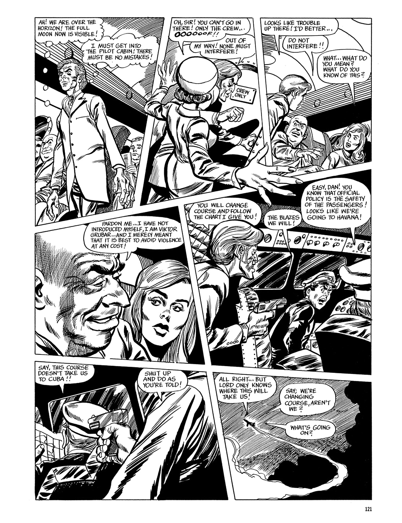 Read online Eerie Archives comic -  Issue # TPB 5 - 122
