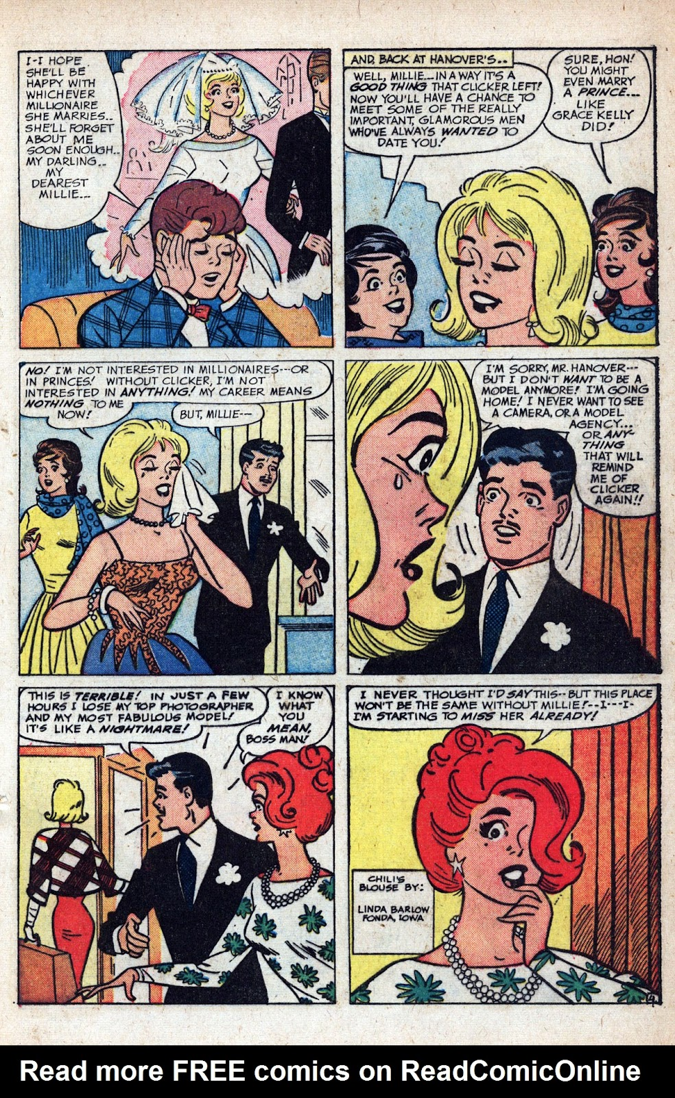 Read online Millie the Model comic -  Issue # Annual 1 - 67