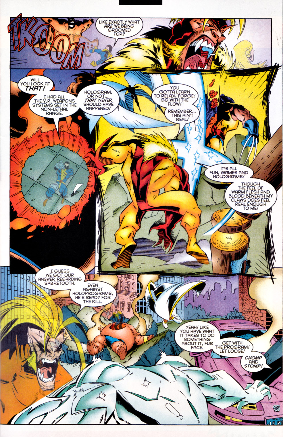 Read online X-Factor (1986) comic -  Issue #124 - 9