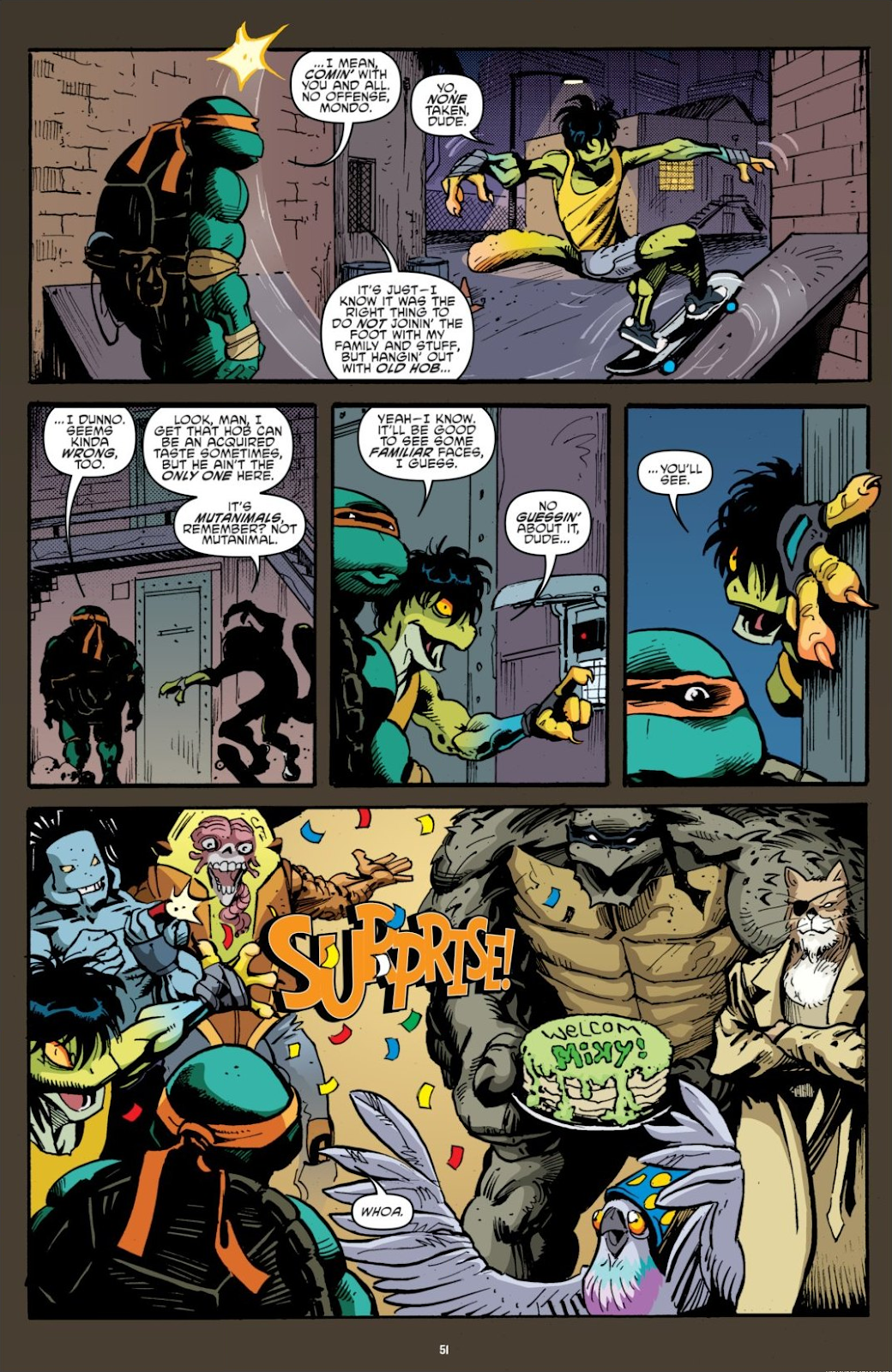 Read online Teenage Mutant Ninja Turtles: The IDW Collection comic -  Issue # TPB 7 (Part 1) - 50