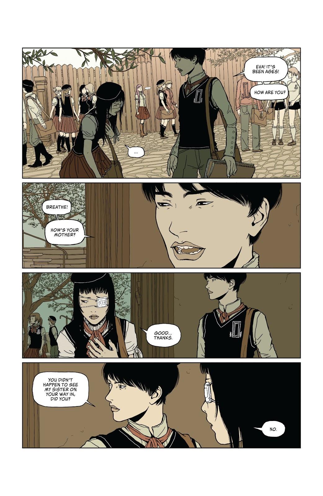 Read online Heartbeat comic -  Issue #1 - 9