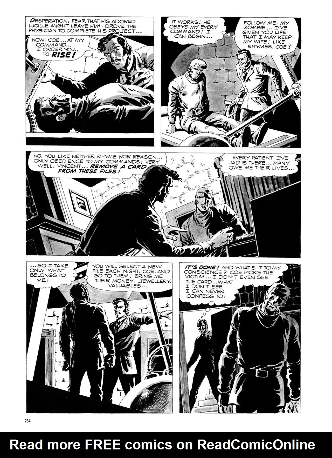 Read online Eerie Archives comic -  Issue # TPB 1 - 235