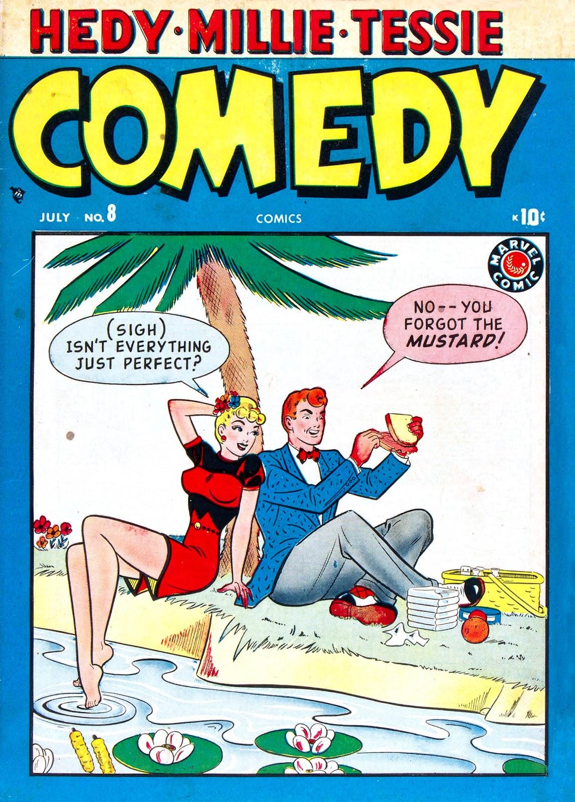 Comedy Comics (1948) 8 Page 1
