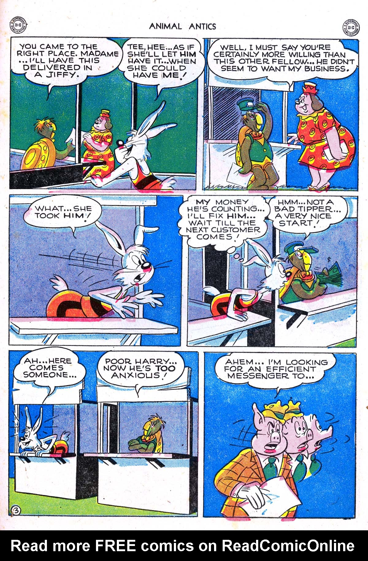 Read online Animal Antics comic -  Issue #5 - 29