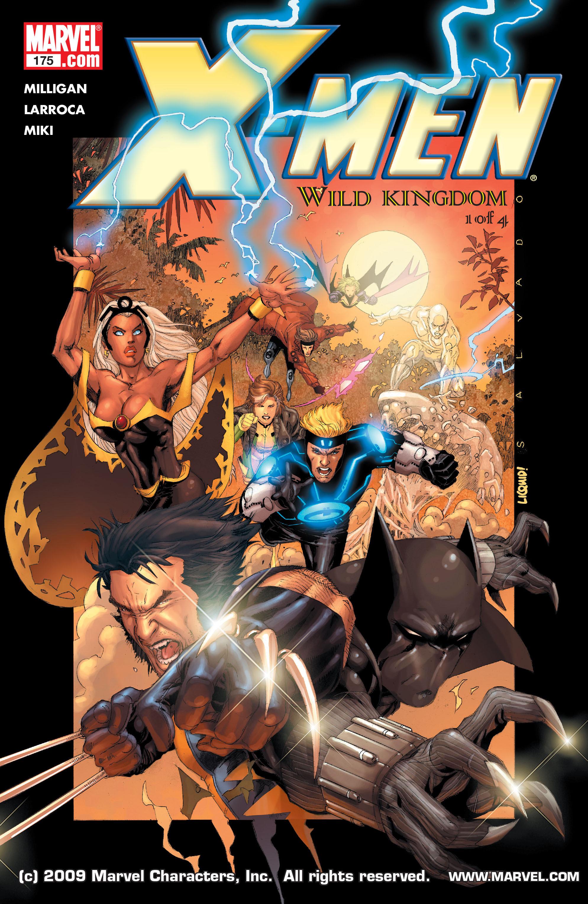 X-Men (1991) 175 Page 0