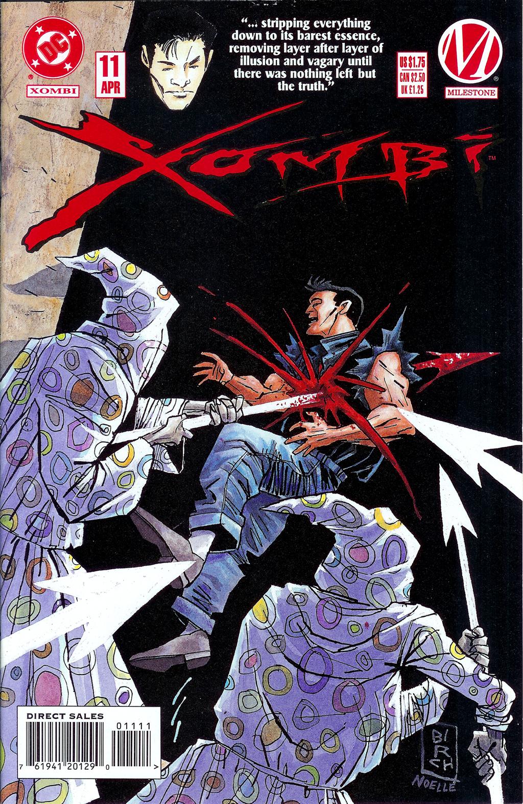 Xombi (1994) 11 Page 1