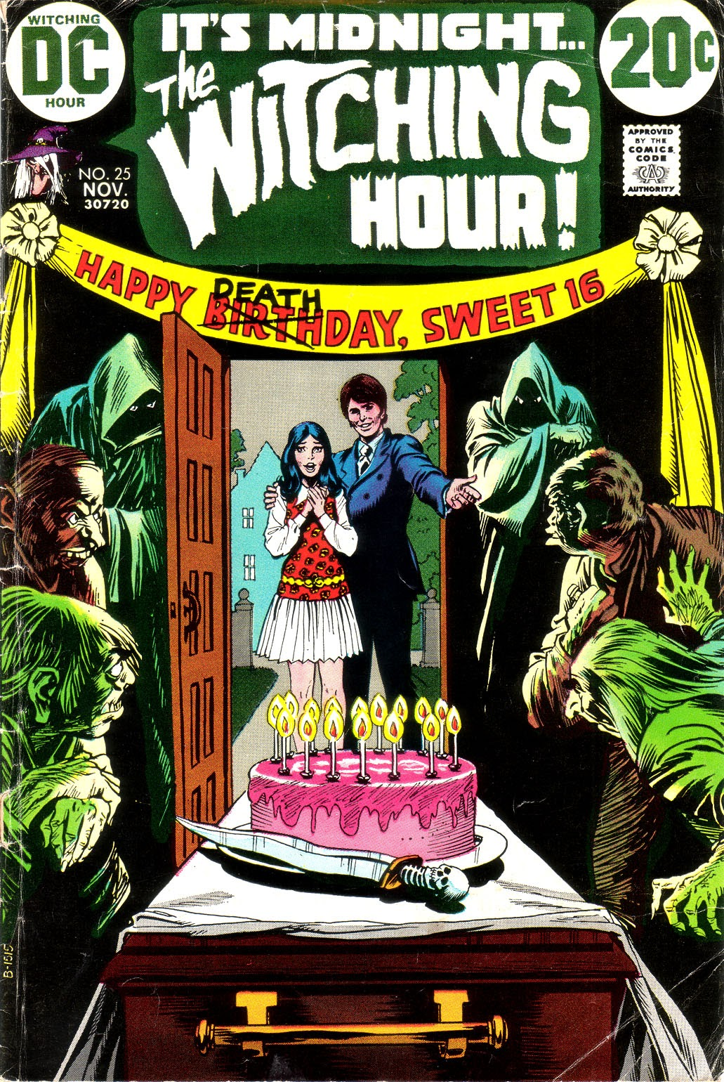 The Witching Hour (1969) issue 25 - Page 1