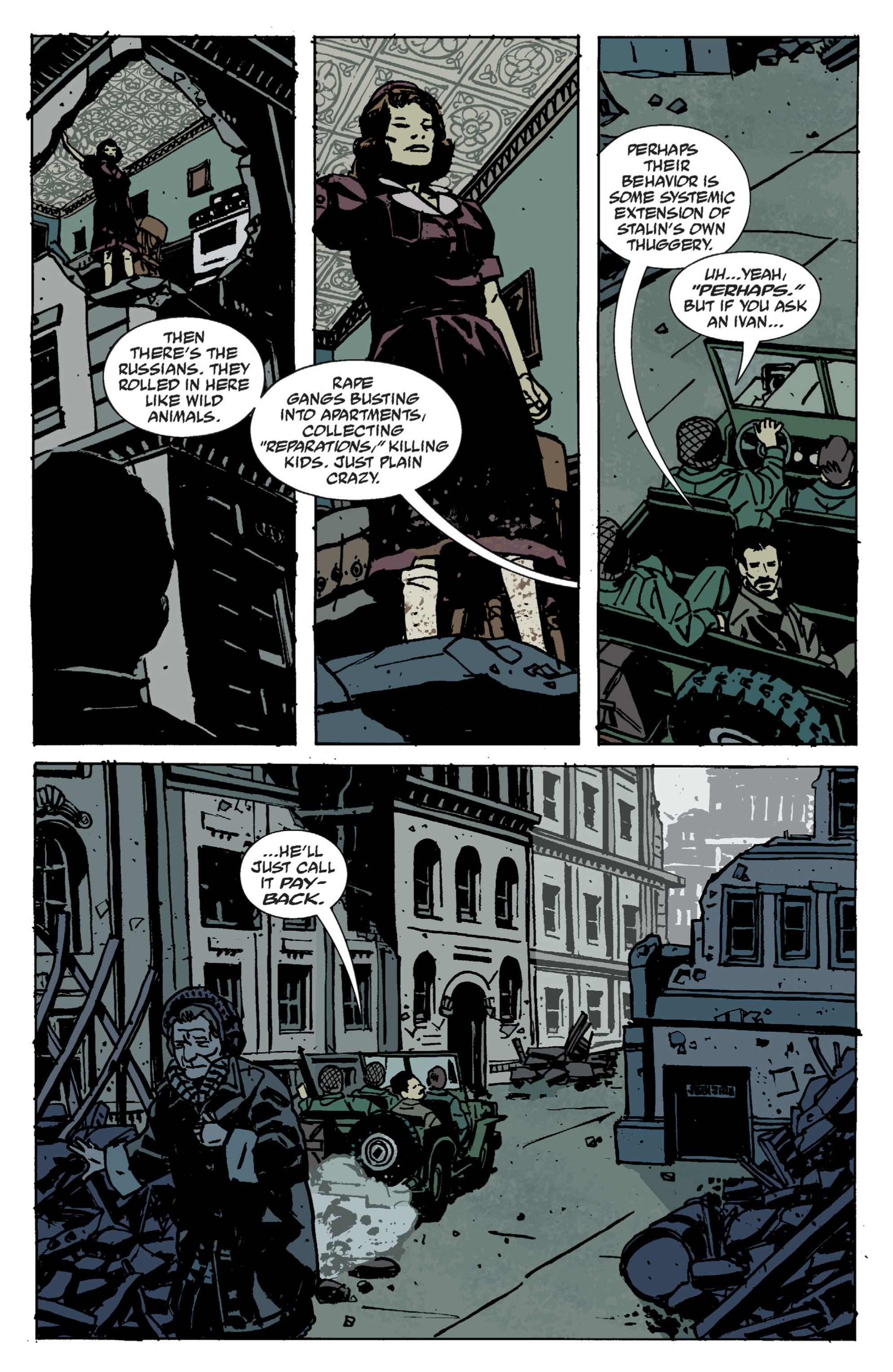 Read online B.P.R.D. (2003) comic -  Issue # TPB 9 - 14