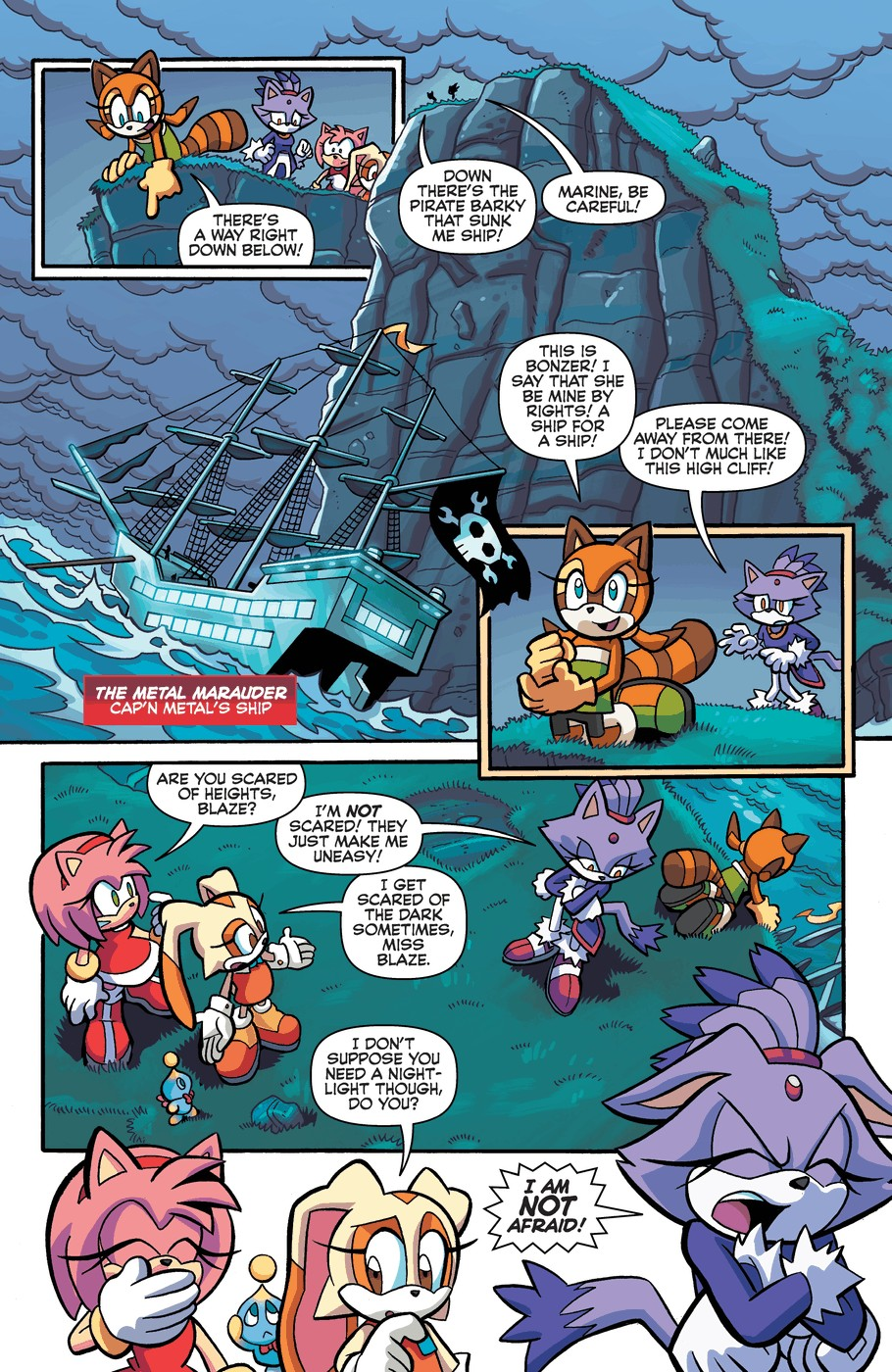 Read online Sonic Universe comic -  Issue #57 - 10