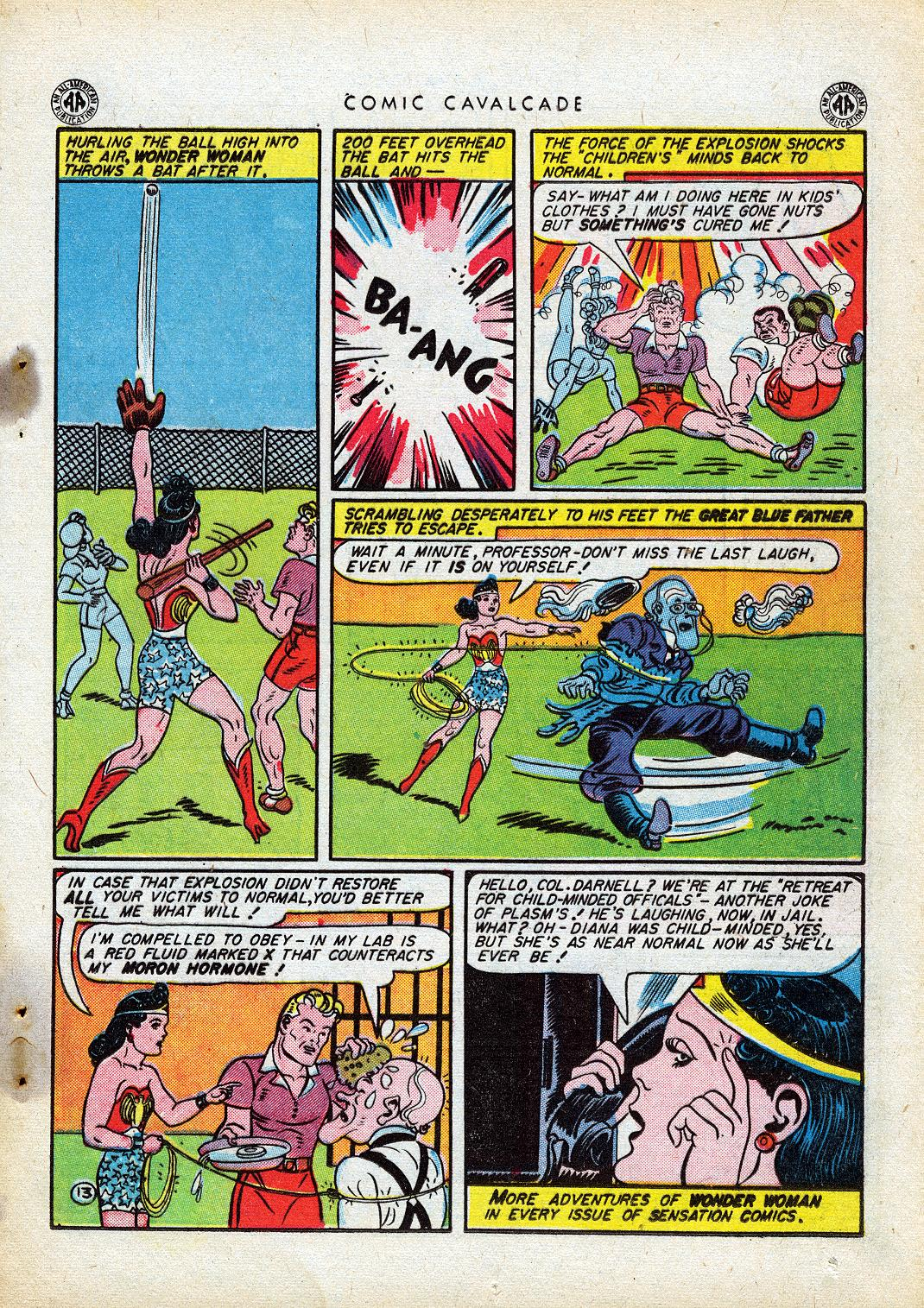 Comic Cavalcade issue 10 - Page 15