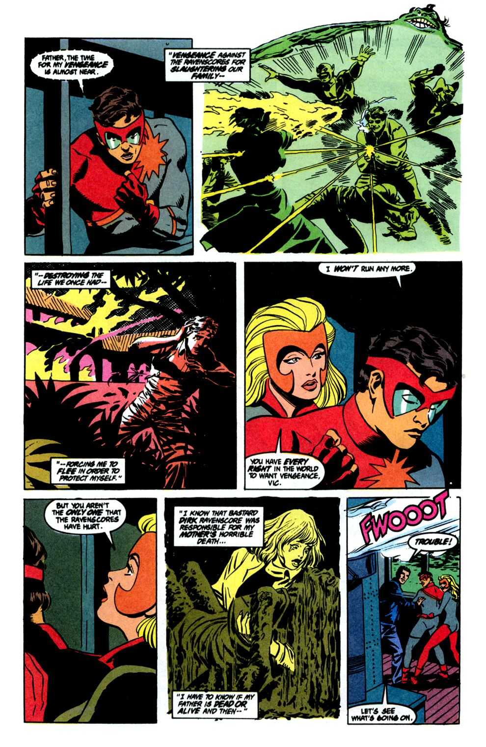 Read online Powerline comic -  Issue #8 - 8