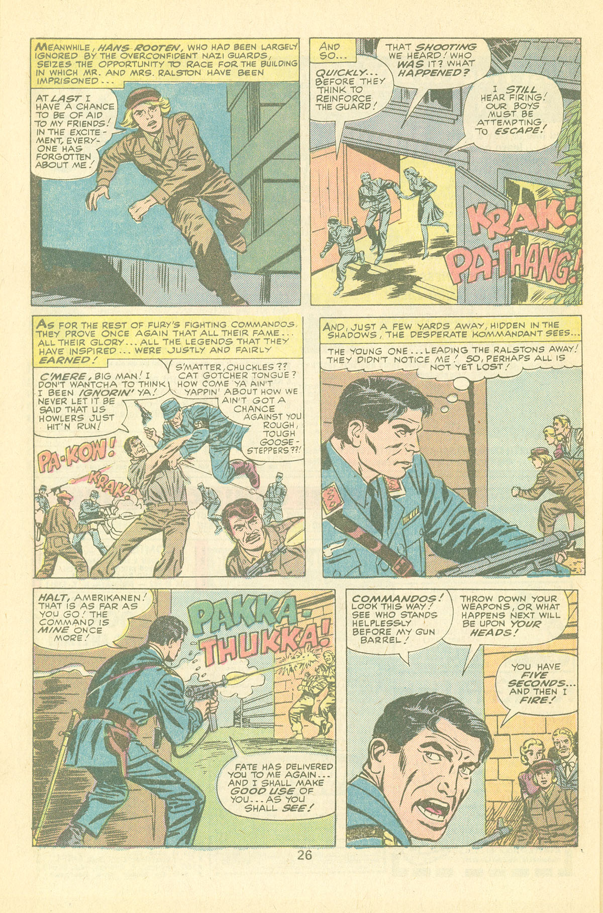 Read online Sgt. Fury comic -  Issue #126 - 28