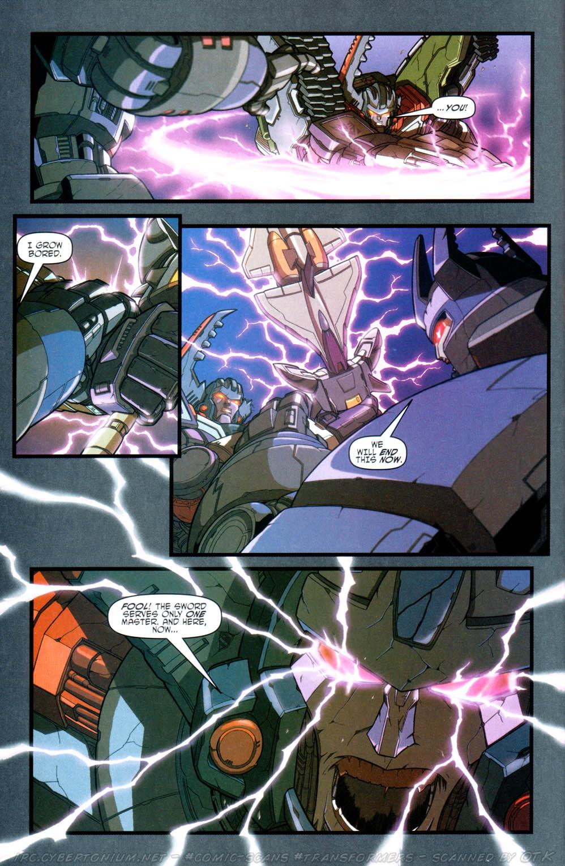 Read online Transformers Armada comic -  Issue #16 - 22