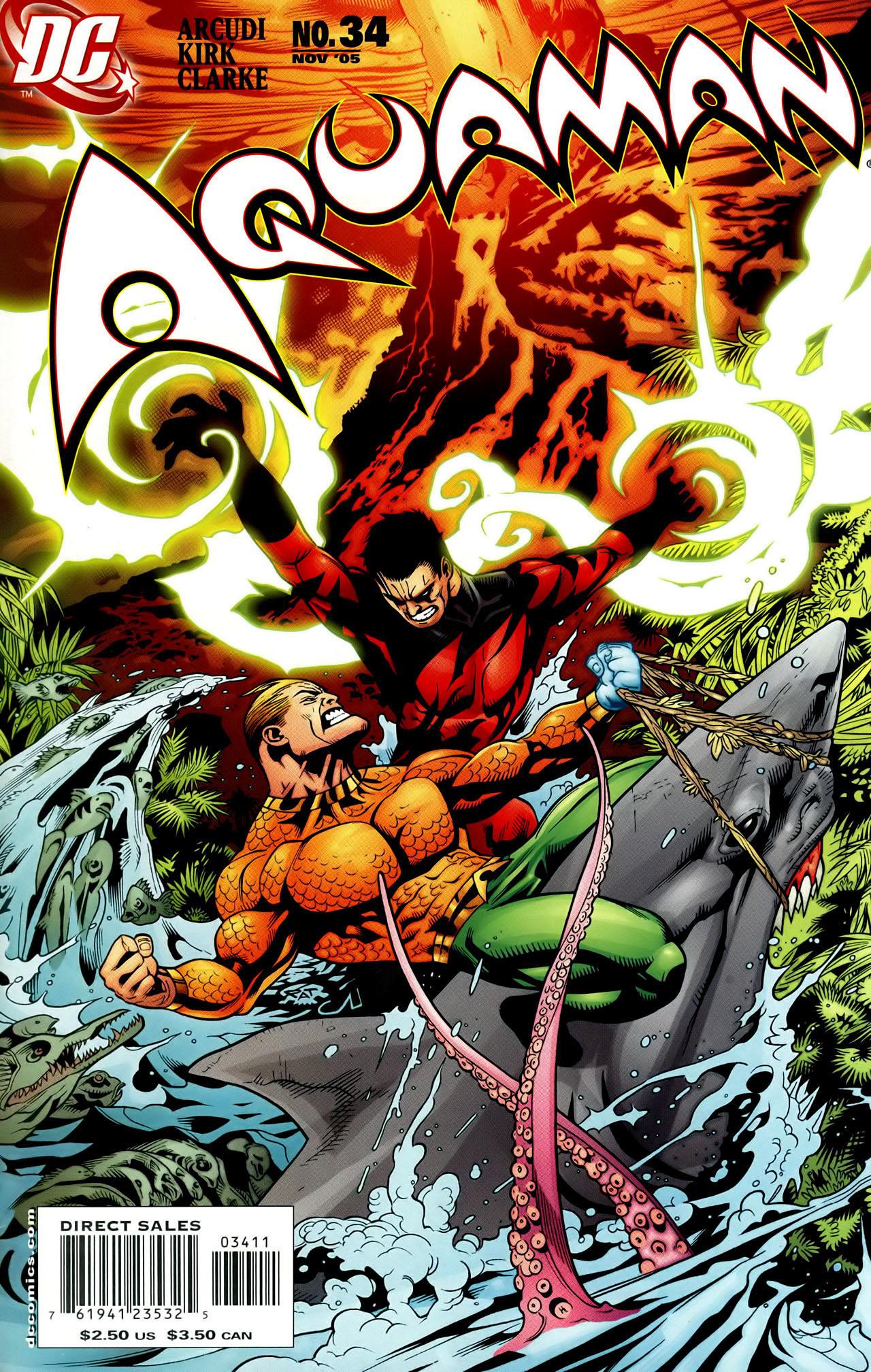 Read online Aquaman (2003) comic -  Issue #34 - 1