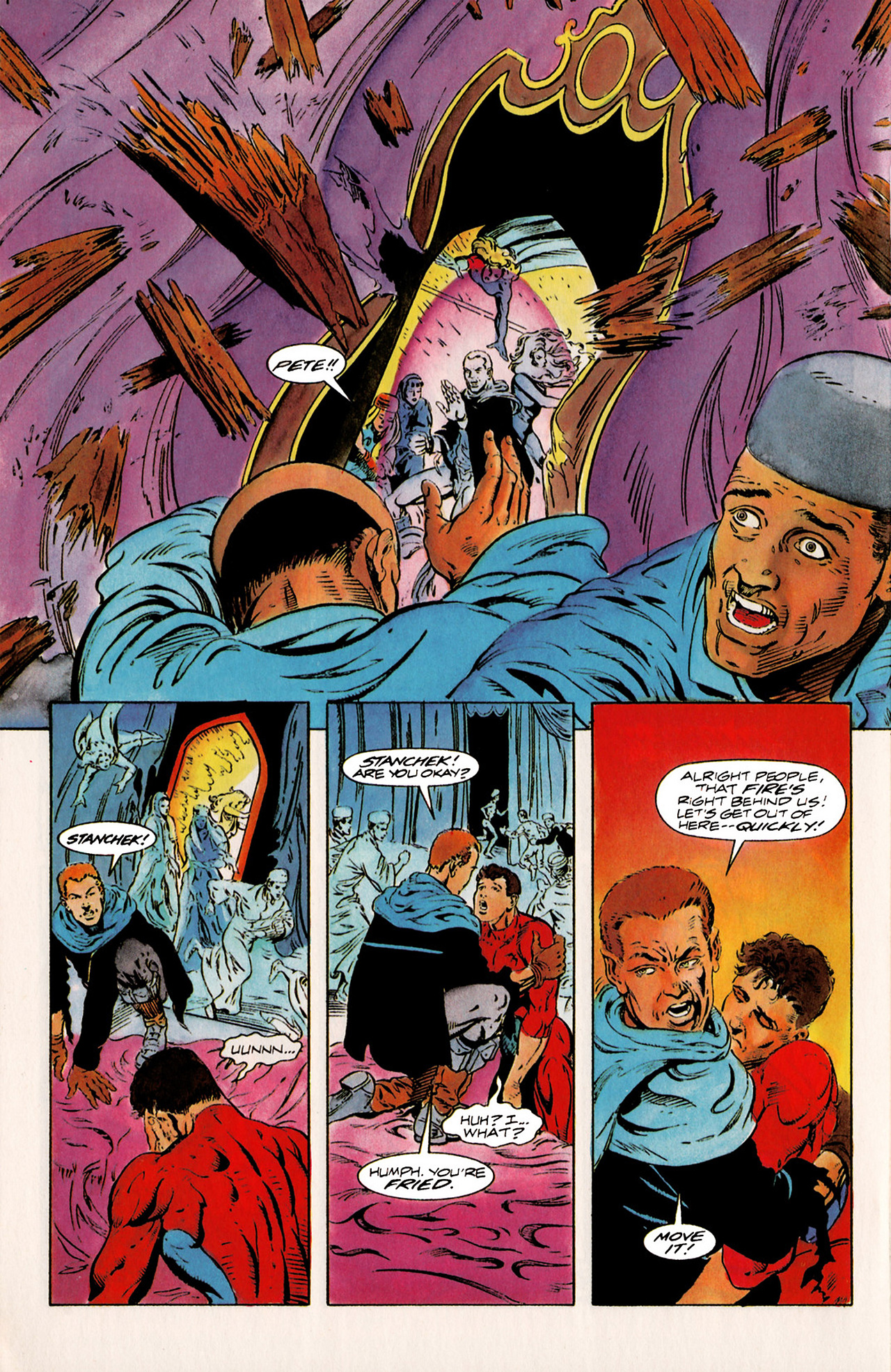 Read online Harbinger (1992) comic -  Issue #20 - 19