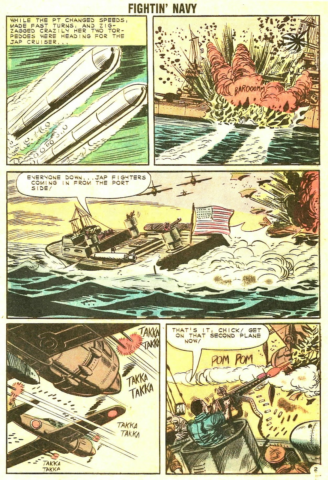 Read online Fightin' Navy comic -  Issue #106 - 29