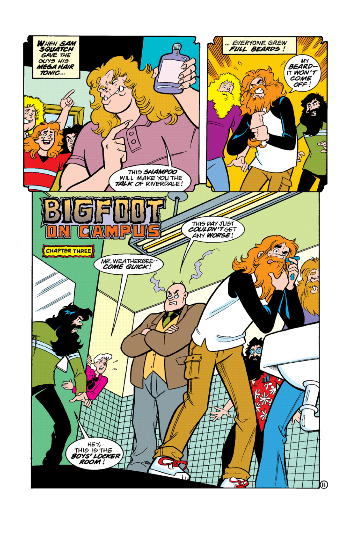 Read online Archie's Weird Mysteries comic -  Issue #10 - 13