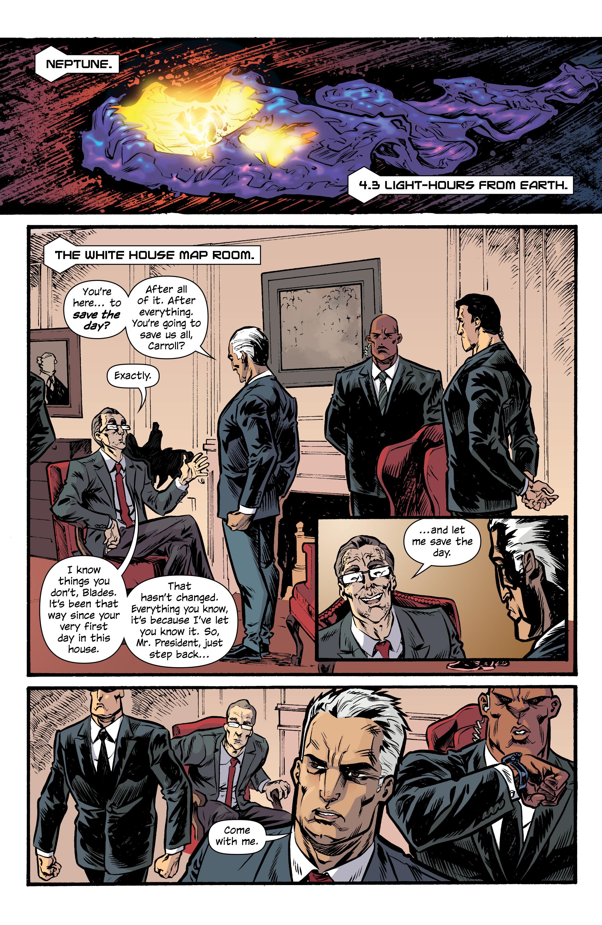 Read online Letter 44 comic -  Issue #33 - 3