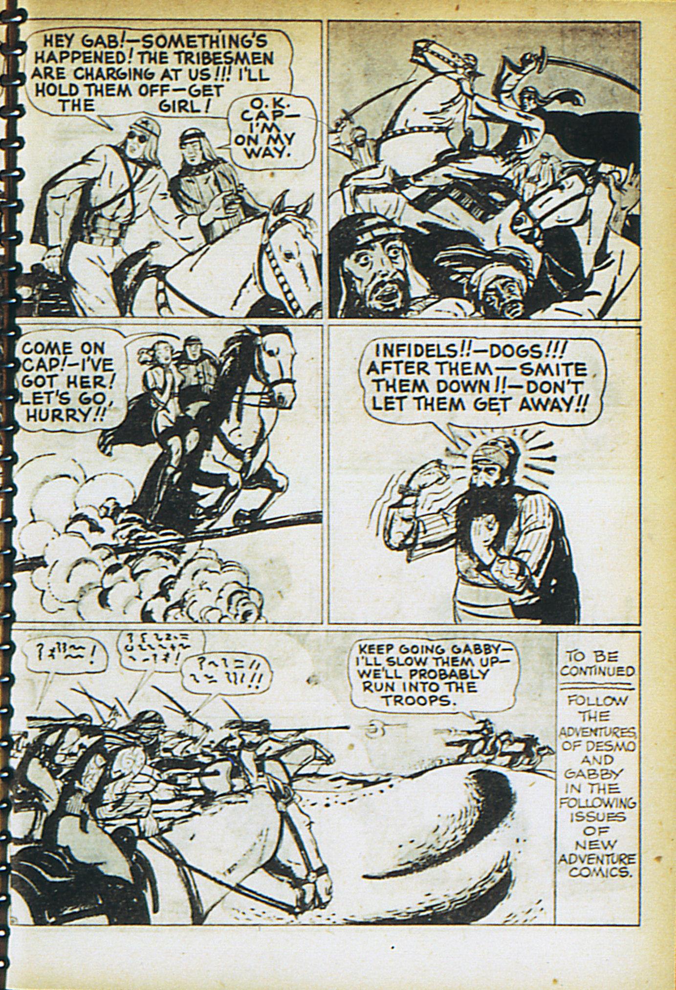 Read online Adventure Comics (1938) comic -  Issue #30 - 34