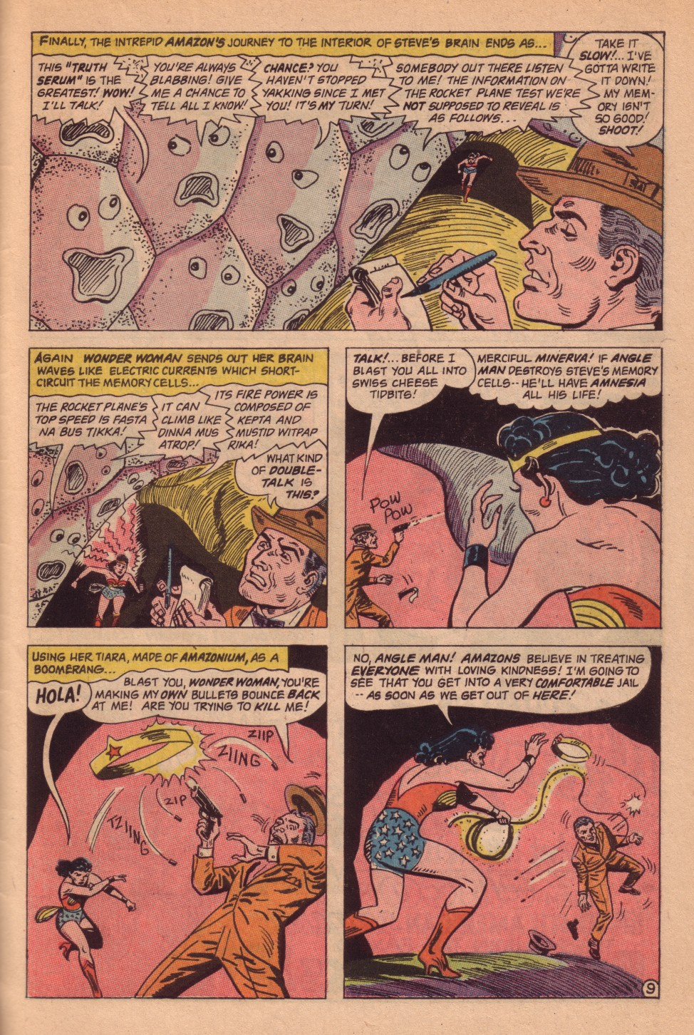Read online Wonder Woman (1942) comic -  Issue #161 - 31