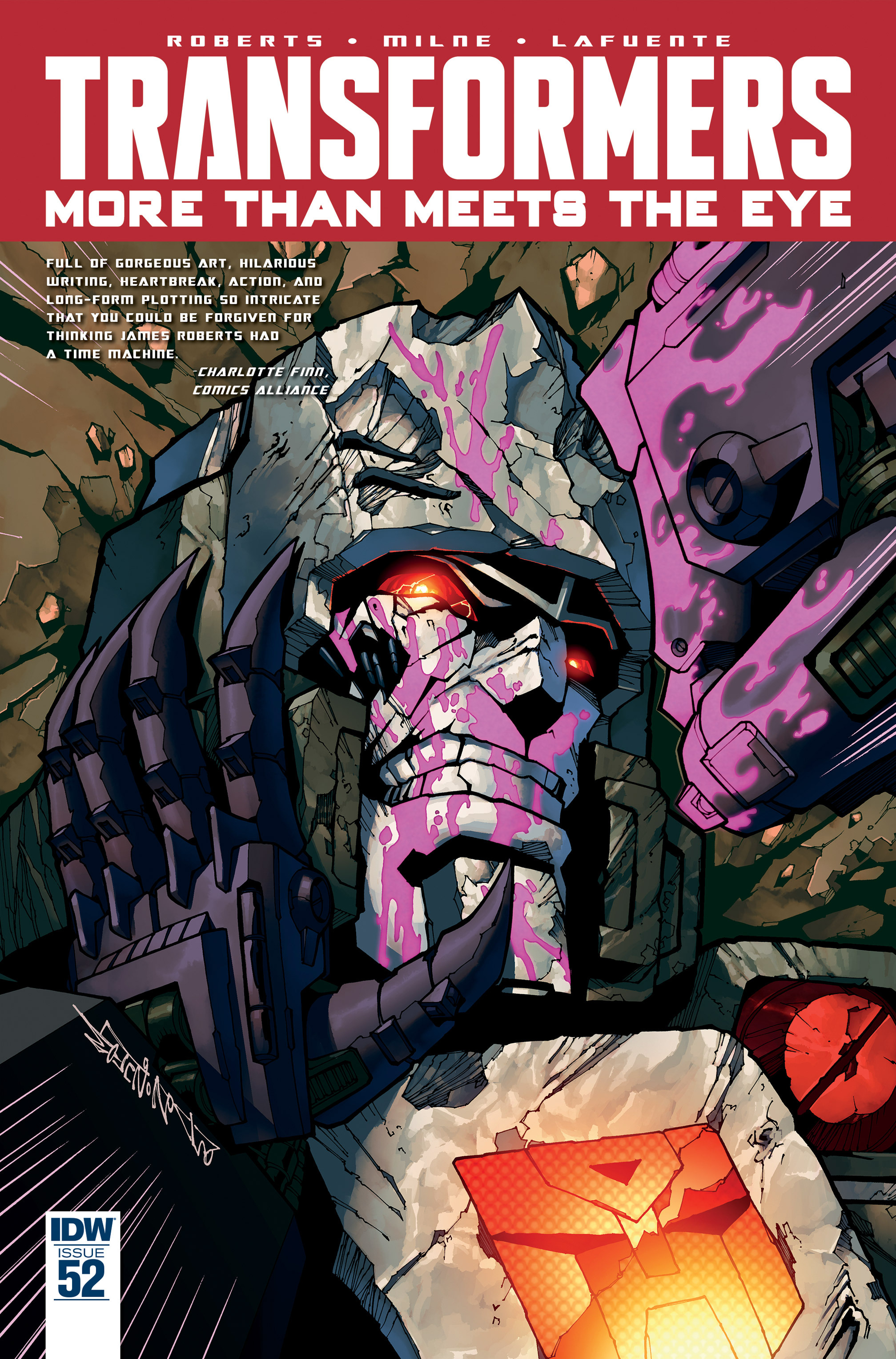 The Transformers: More Than Meets The Eye #52 Page 1