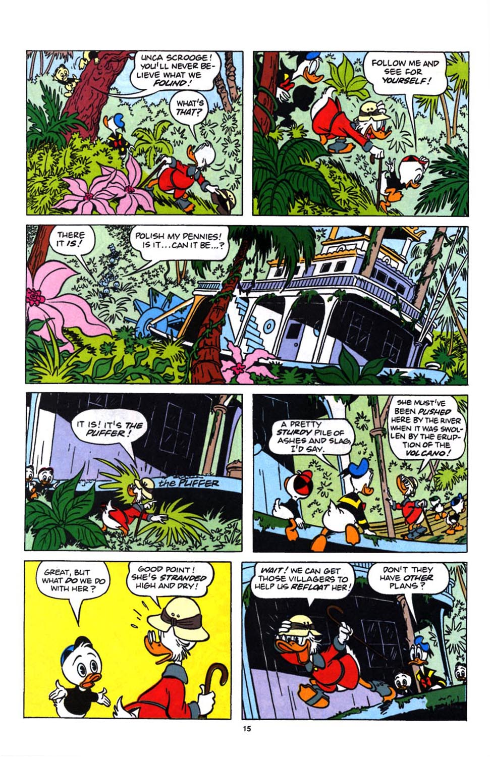 Read online Uncle Scrooge (1953) comic -  Issue #249 - 17