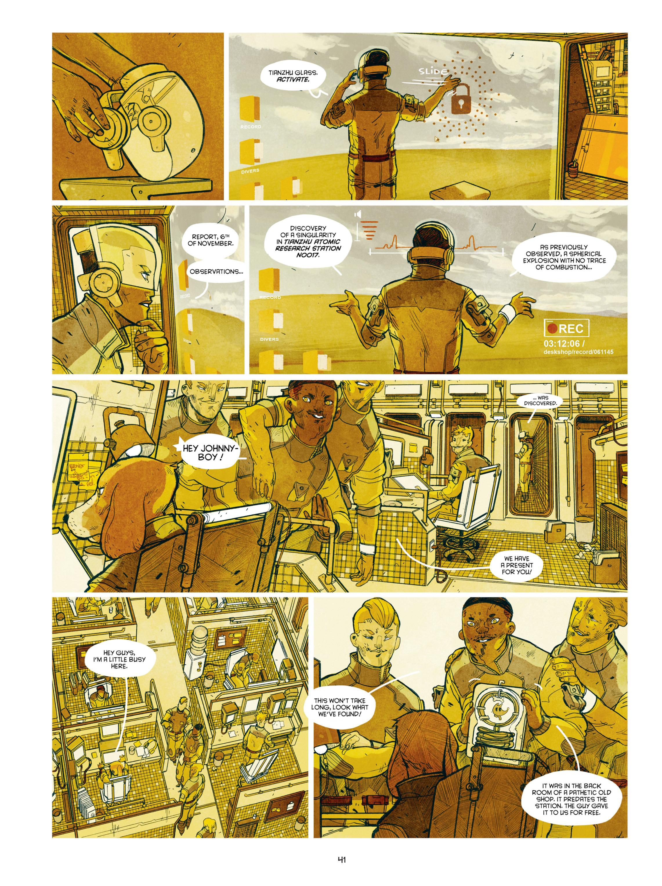 Read online Shangri-La comic -  Issue # Full - 43