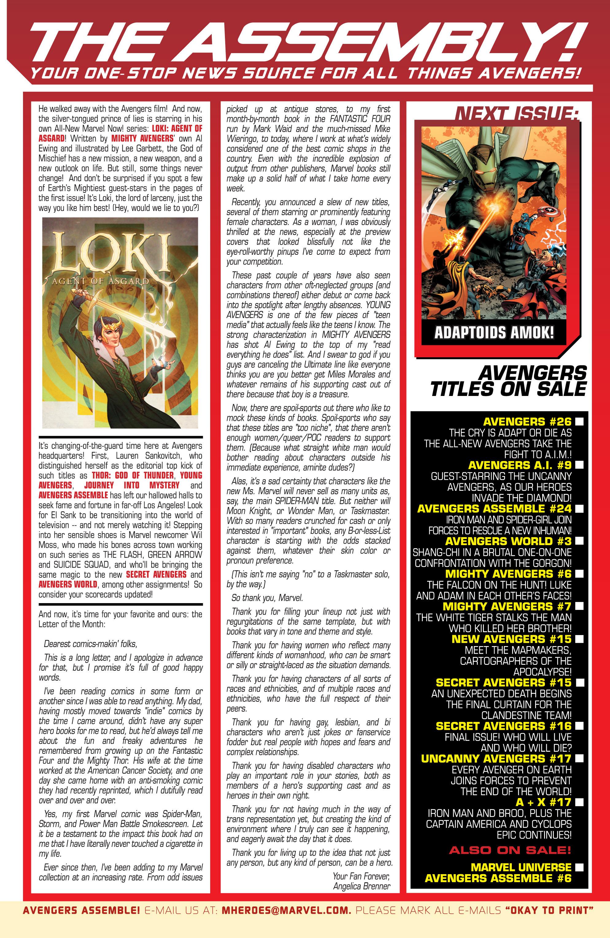 Read online Avengers (2013) comic -  Issue #Avengers (2013) _TPB 5 - 87