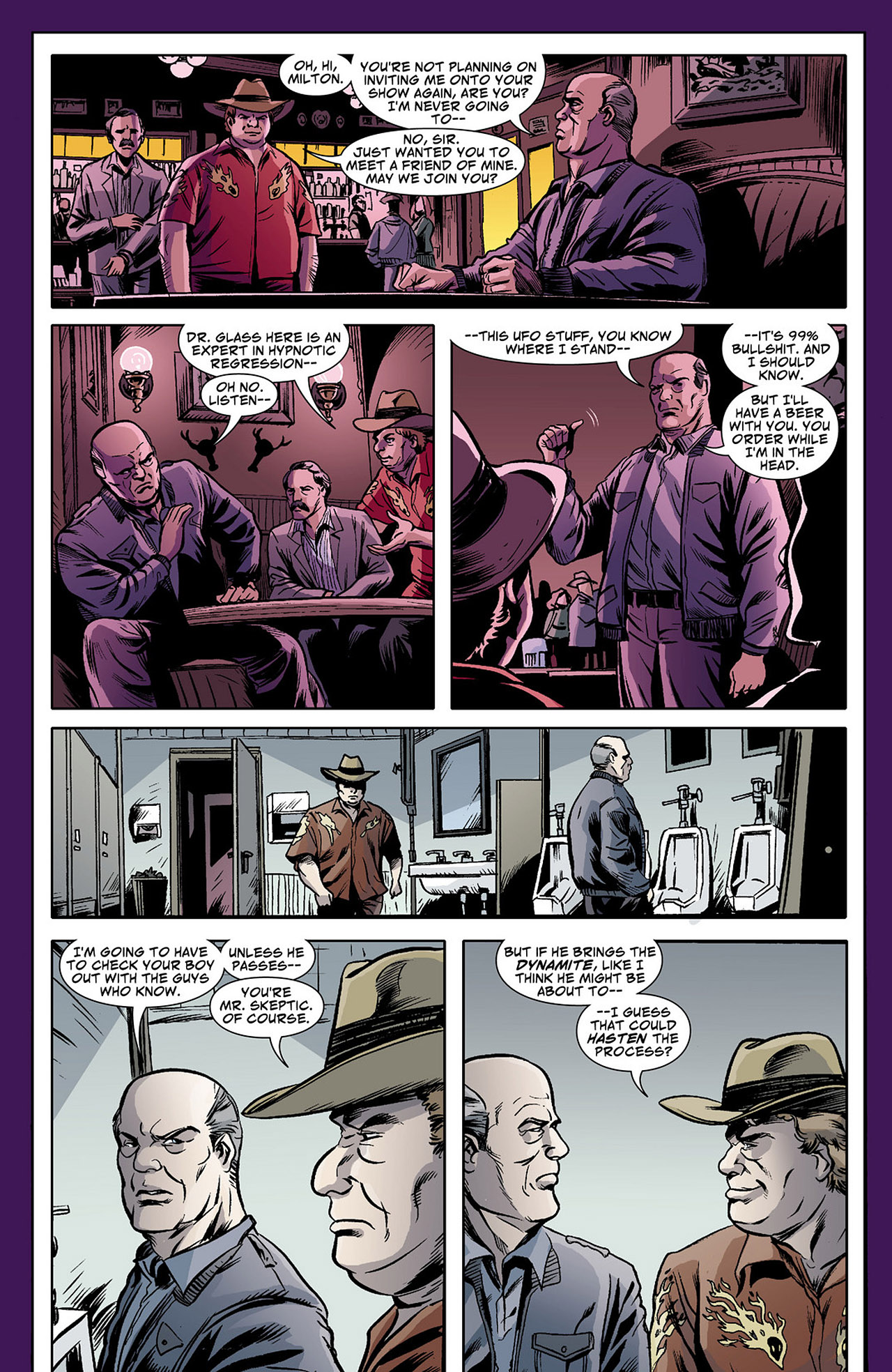 Read online Saucer Country comic -  Issue #4 - 18