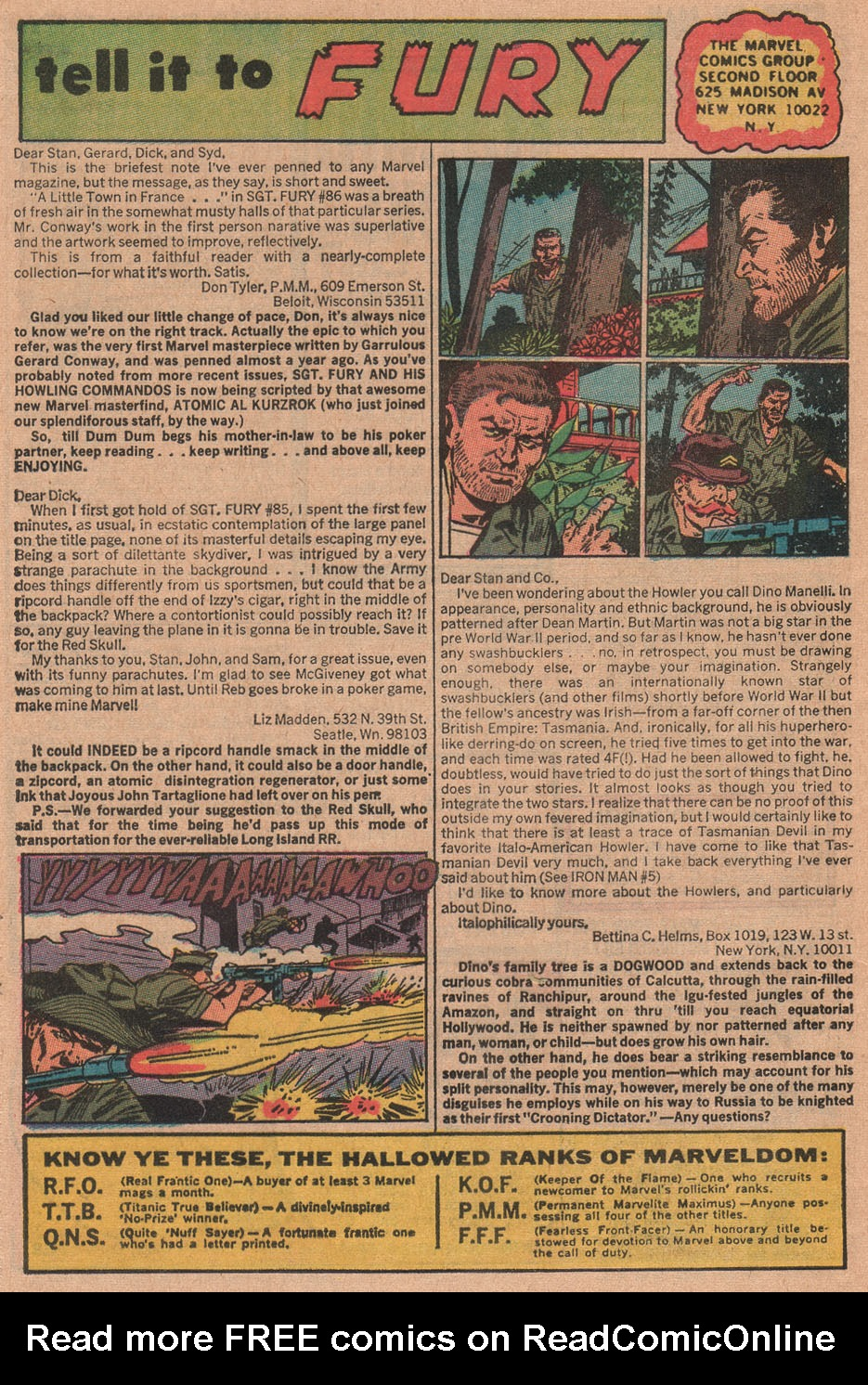 Read online Sgt. Fury comic -  Issue #90 - 32
