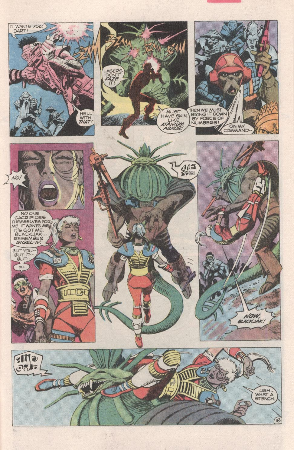 Read online Atari Force (1984) comic -  Issue #2 - 20