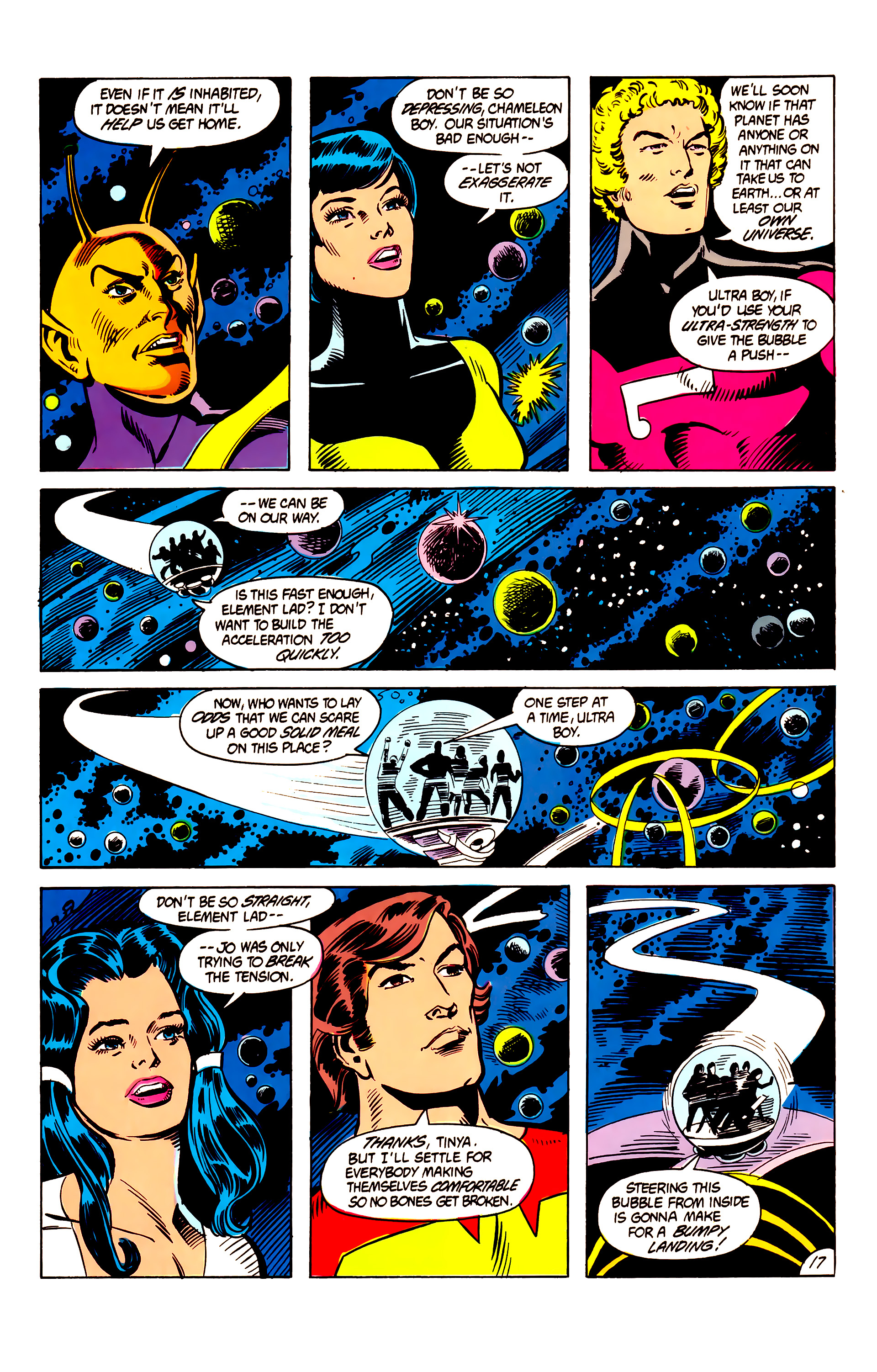Legion of Super-Heroes (1984) 6 Page 17