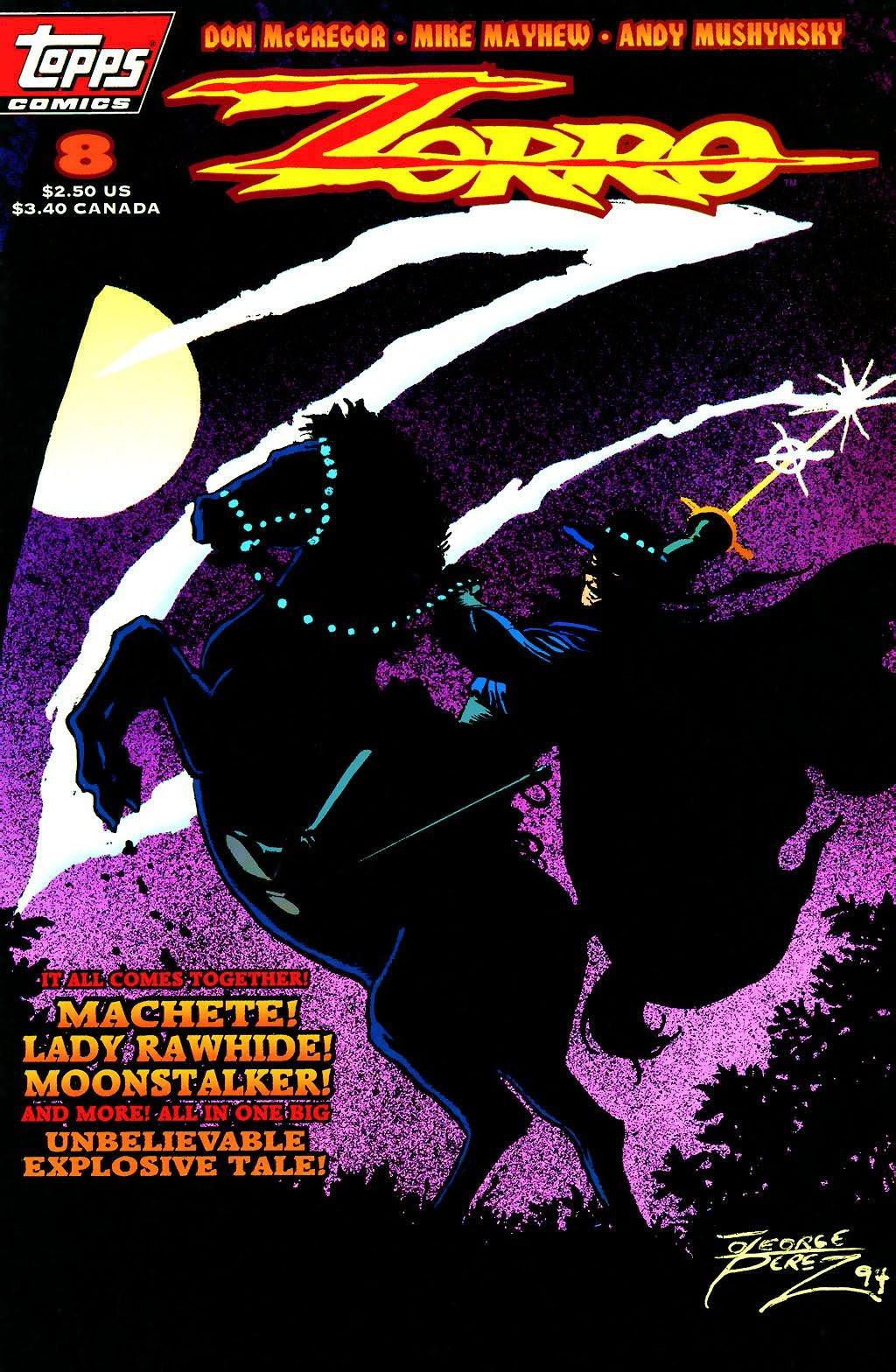 Zorro (1993) 8 Page 1