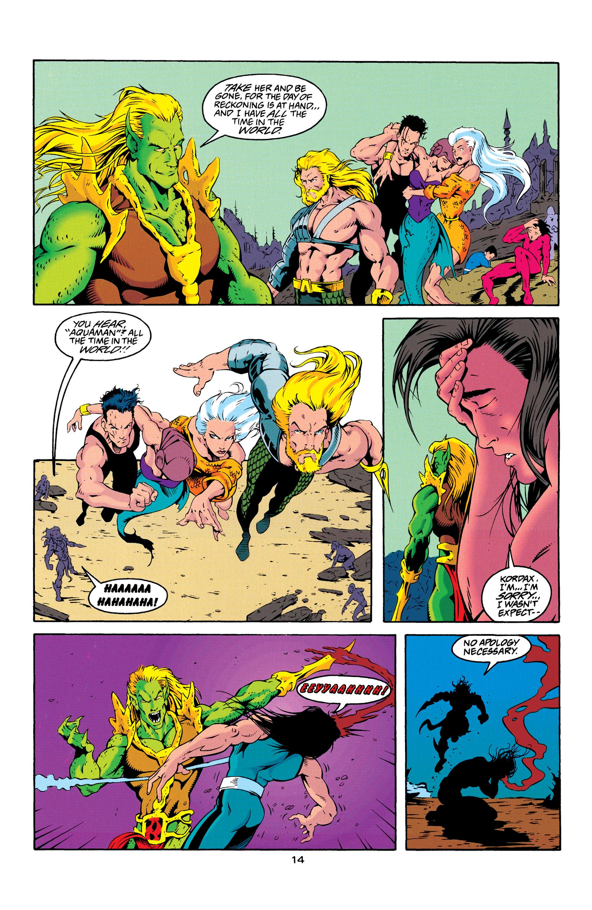 Read online Aquaman (1994) comic -  Issue #23 - 14